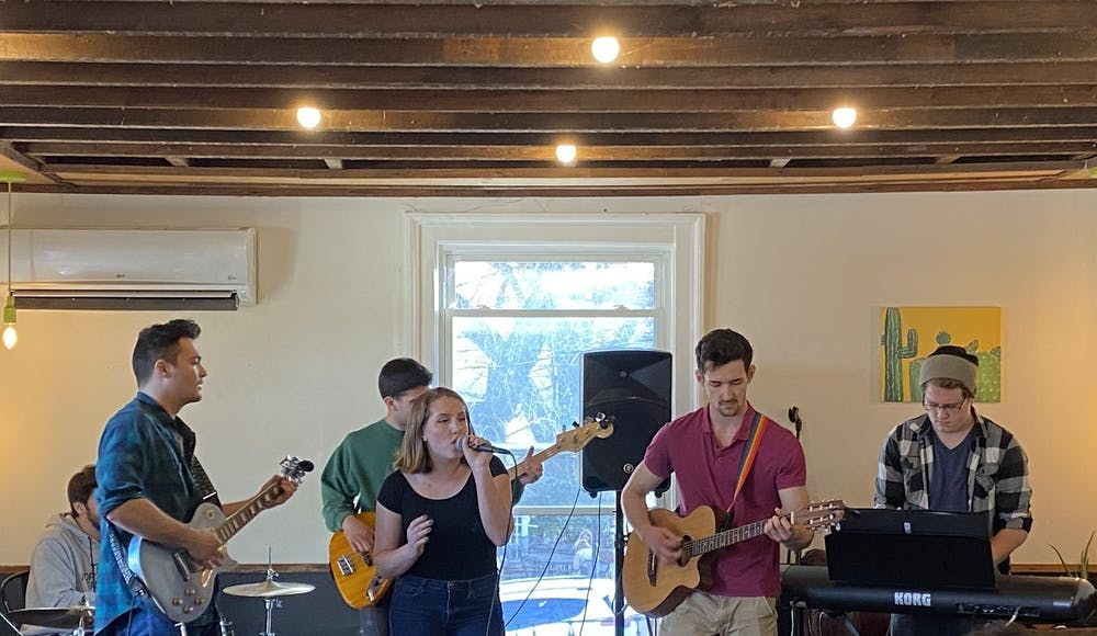 <p>Silver Retriever was among the four acts featured in the third installment of UPC's Tiny Desk series, held Feb. 28 at Grit Coffee.&nbsp;</p>
