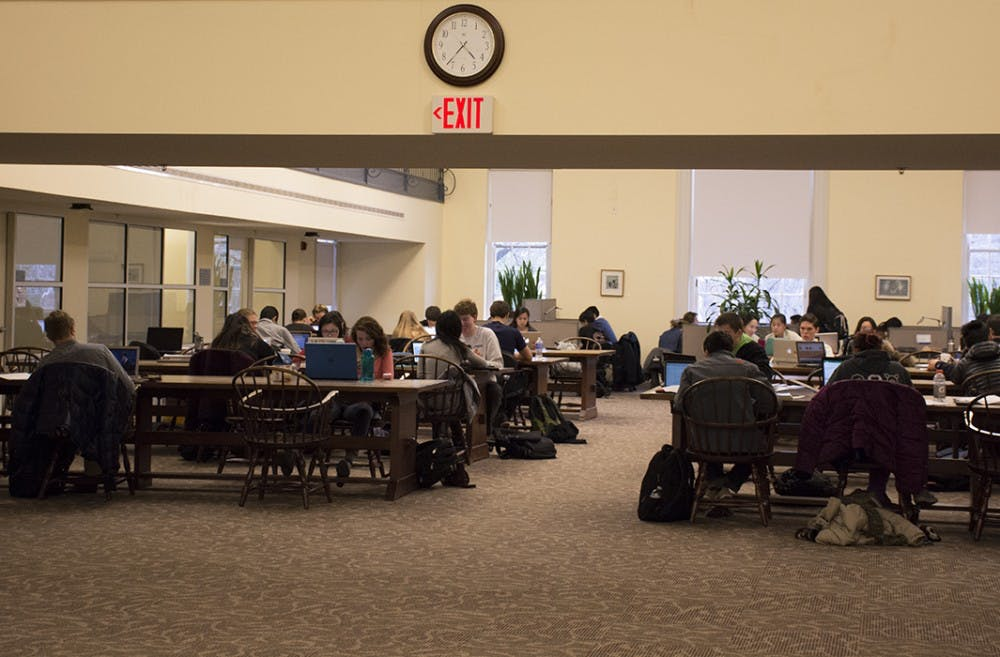 <p>Sites said Brown Library provides a unique setting for students, and some students like it better than Clemons Library.</p>