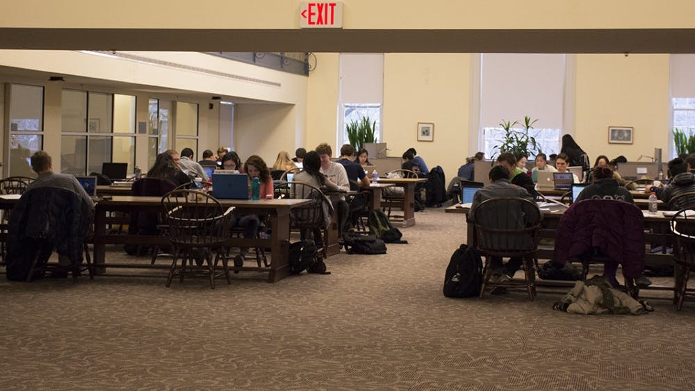 Sites said Brown Library provides a unique setting for students, and some students like it better than Clemons Library.