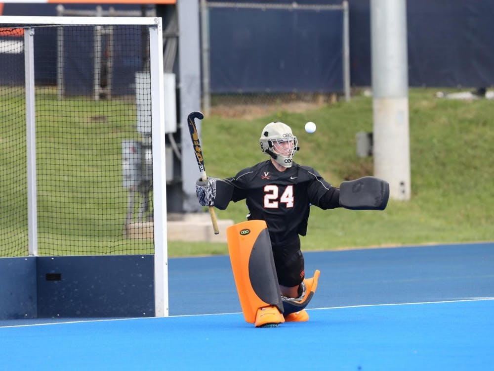 Virginia senior goalkeeper Carrera Lucas did not give up a goal against Boston College Thursday.