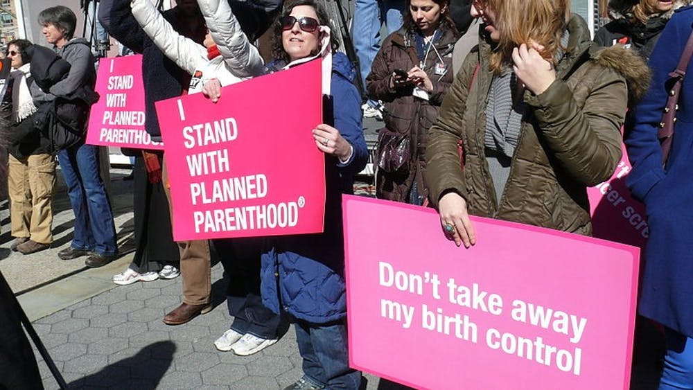 Planned Parenthood participates in a funding program called Title X which allows them to supplement birth control, gynecology care and other reproductive health services for those who cannot afford to pay for their health care services.