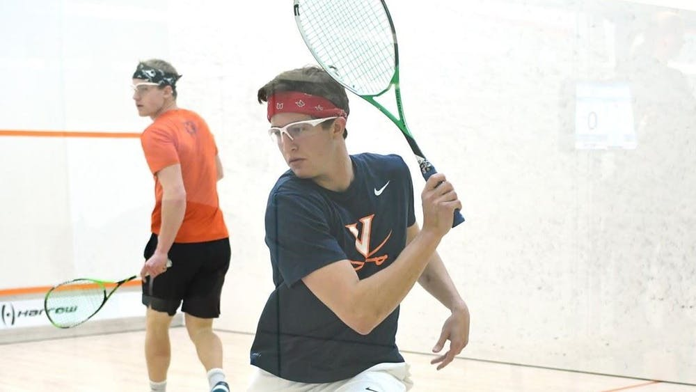 <p>Junior Andrew Braff seized the game point in position nine for the No. 9 men's squash team.&nbsp;</p>