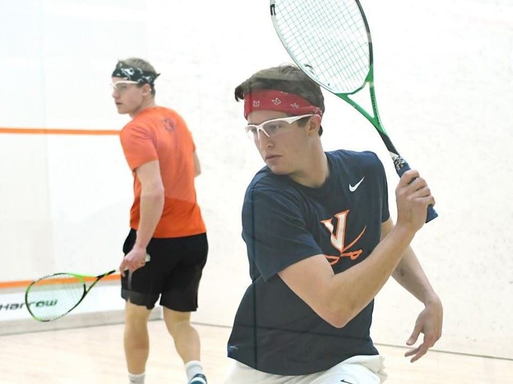 Junior Andrew Braff seized the game point in position nine for the No. 9 men's squash team.