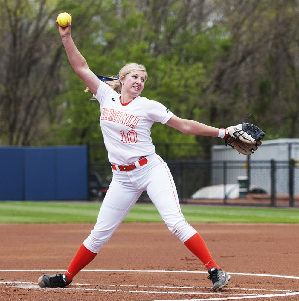 <p>Junior Aimee Chapdelaine knocked in the Cavaliers' second run. She also pitched three scoreless innings in relief of freshman Alex Formby. </p>