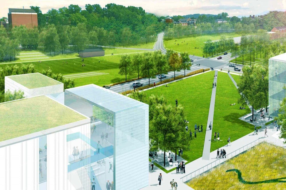 <p>The Ivy Corridor redevelopment process will be centered around the inclusion of green spaces and pedestrian accessibility.&nbsp;</p>