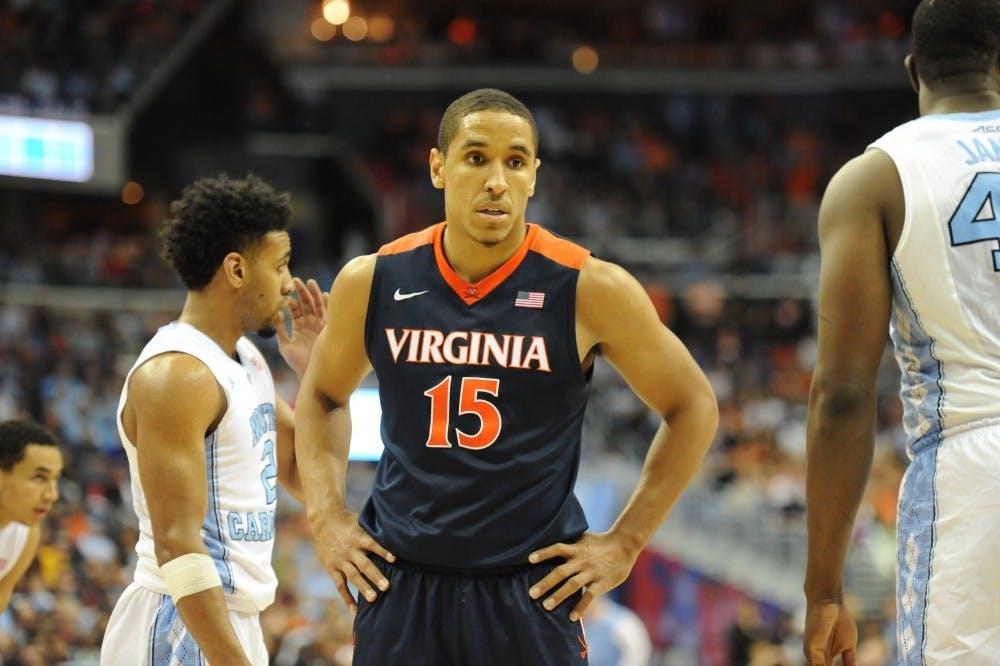 <p>Former Virginia men's basketball star Malcolm Brogdon won Rookie of the Year with the Milwaukee Bucks last season.</p>