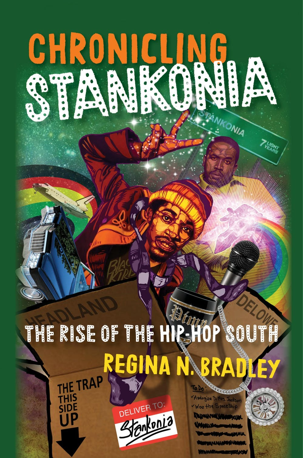 """<p>Regina Bradley, an english professor at Kennesaw State University, read from her book """"Chronicling Stankonia: The Rise of the Hip-Hop South.""""</p>"""