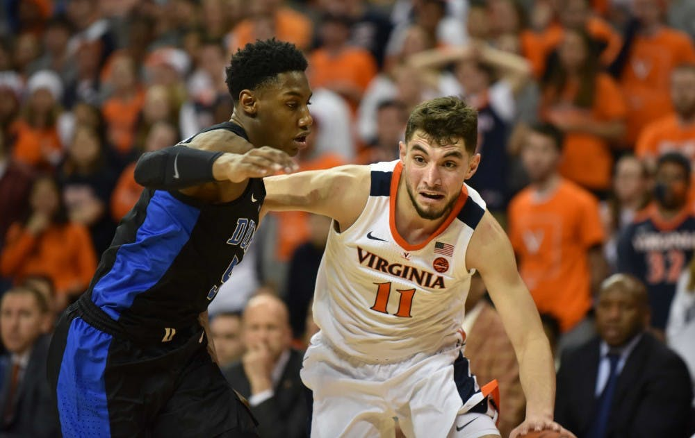 <p>Junior guard Ty Jerome scored 16 points in his return from injury.</p>