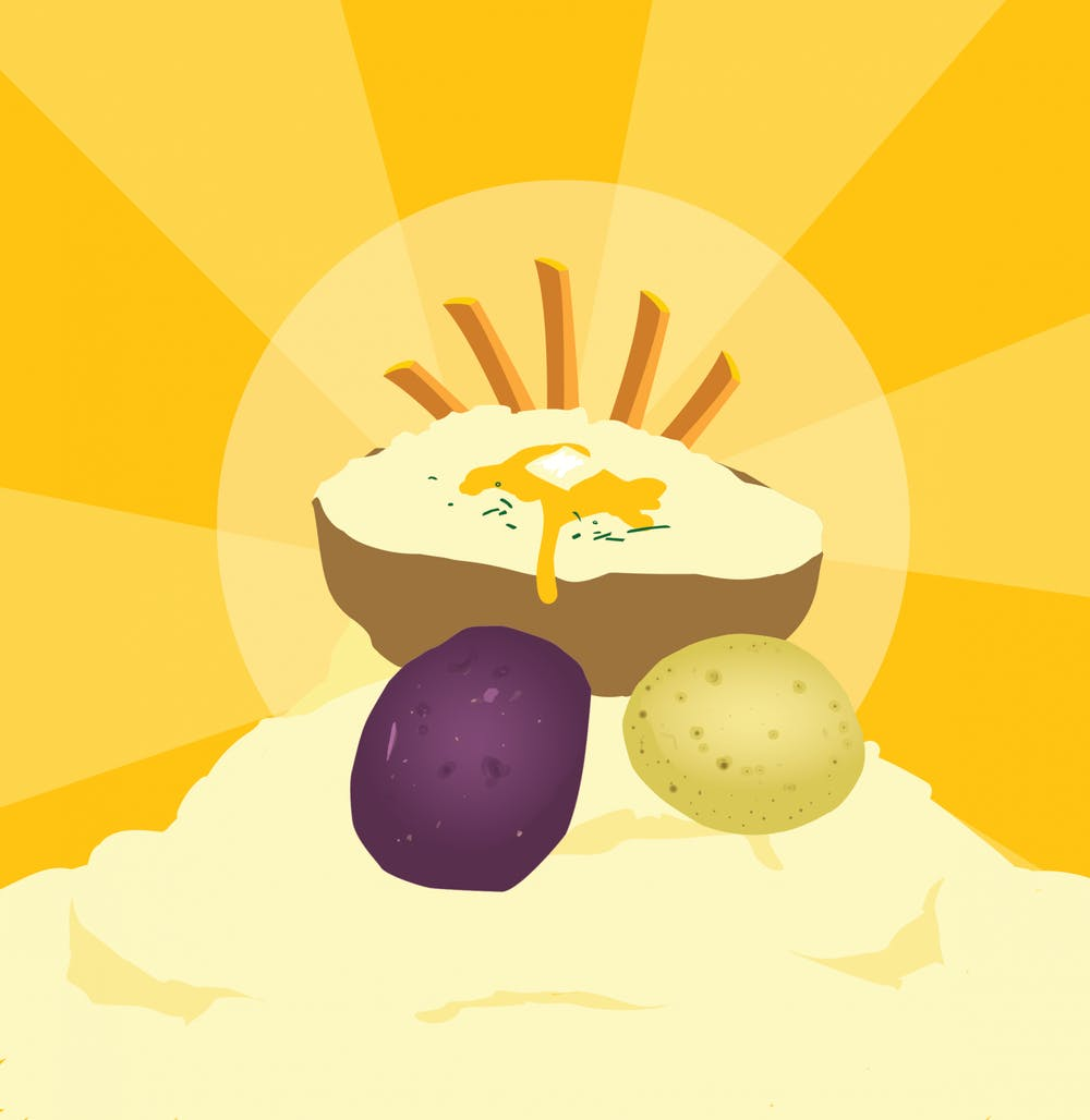 <p>Potatoes aren't just for late night cravings and cheat days.</p>