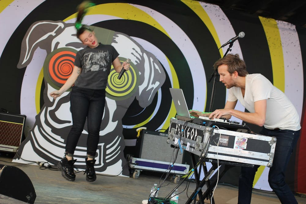 """<p>Married couple and musical duo Sylvan Esso released their third album, """"Free Love,"""" Sept. 25.&nbsp;</p>"""
