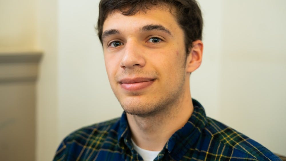 Third-year College student Anthony Malabad is president of the Native American Student Union.