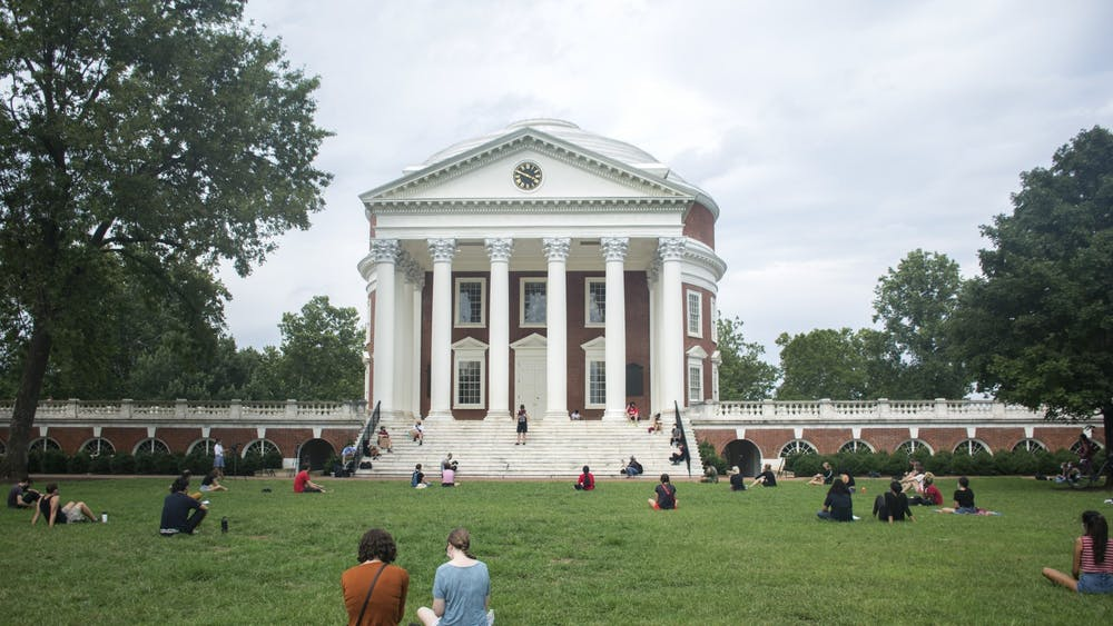 "A ""Die-In"" demonstration was held on the Lawn Wednesday to protest the University's decision to proceed with in-person classes, which are scheduled to begin Tuesday."