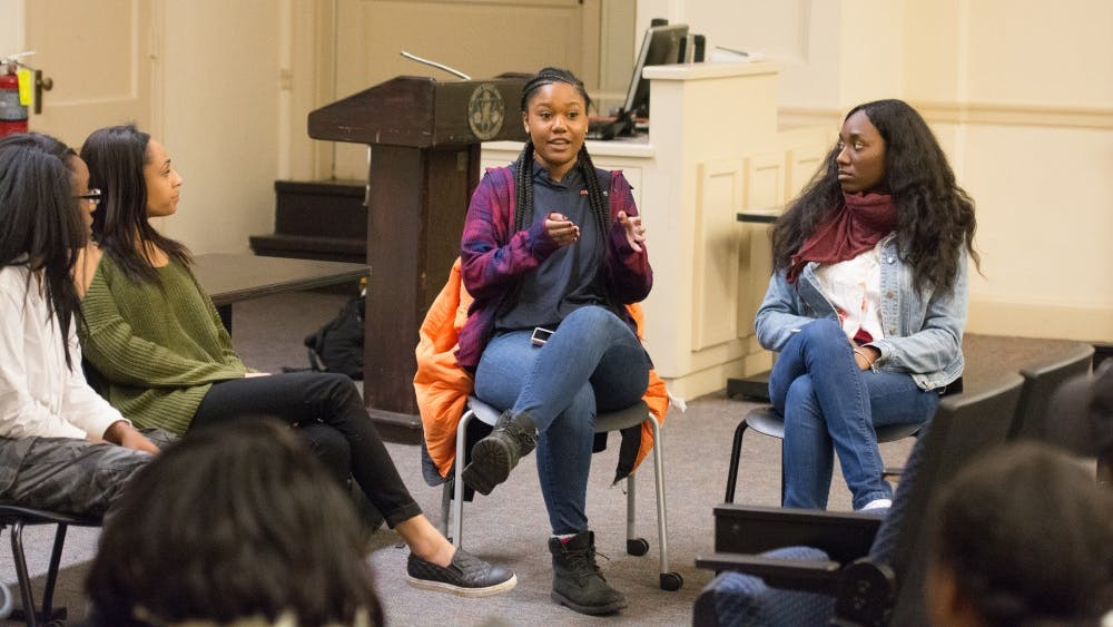 Women attending the Melanin Matters event discussed beauty standards, colorism and confidence.