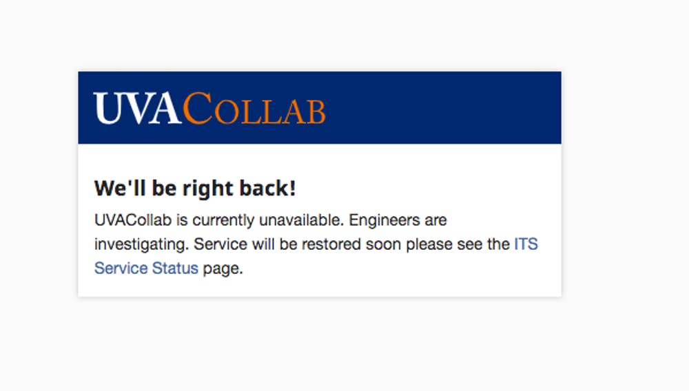 U.Va. IT does not currently know the root cause of the outage.