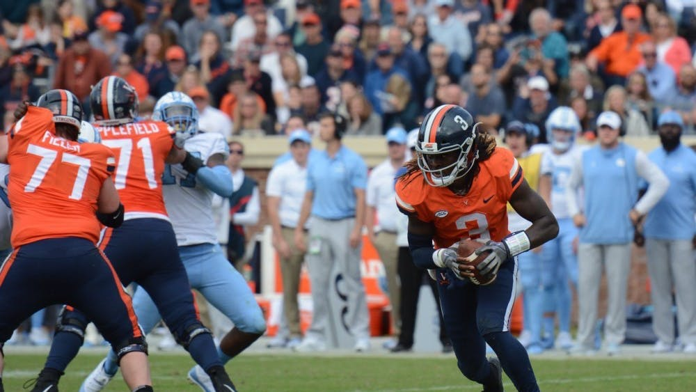 Senior quarterback Bryce Perkins figures to be Virginia football's most important player for the 2019 season.