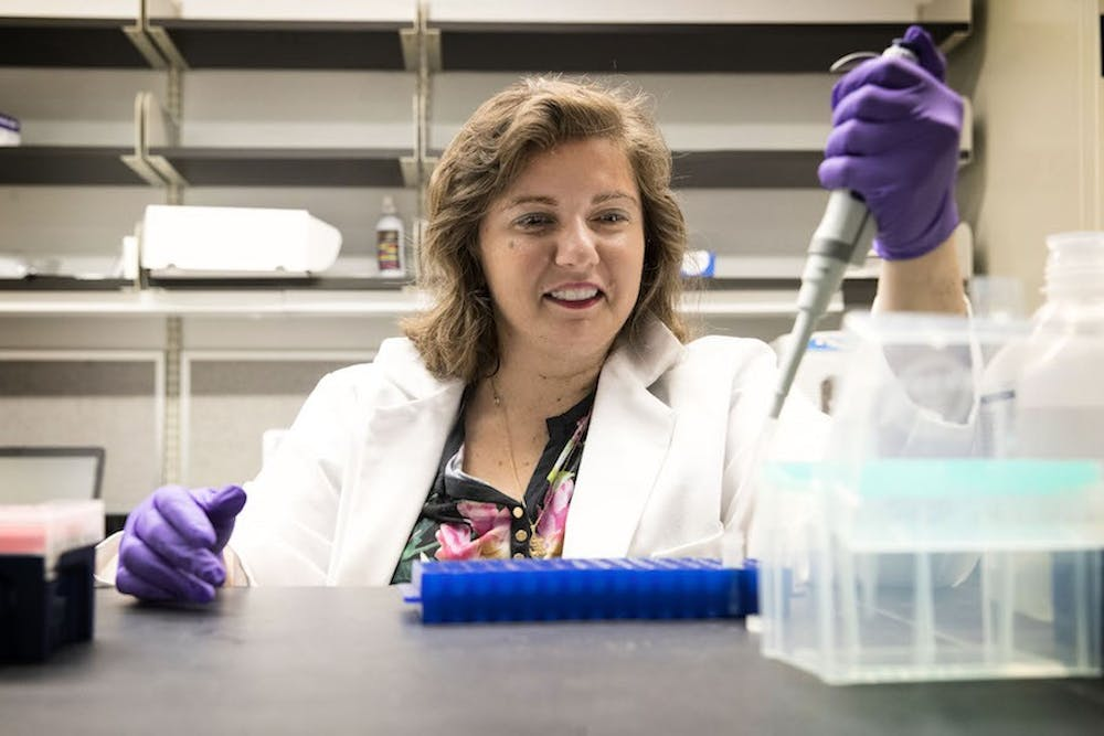 <p>A research team led by Pharmacology Asst. Prof. Irina Bochkis used a liver disease model to study age-associated diseases related to metabolism at the cellular level.</p>