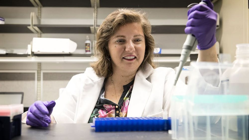 A research team led by Pharmacology Asst. Prof. Irina Bochkis used a liver disease model to study age-associated diseases related to metabolism at the cellular level.