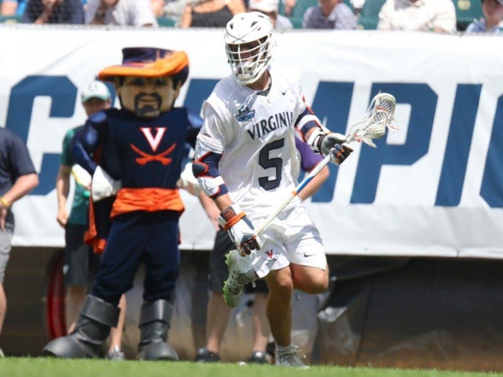 Sophomore attackman Matt Moore's historic season powered Virginia to a national championship.