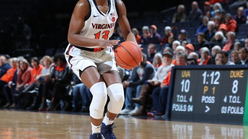 Senior guard Jocelyn Willoughby led Virginia with 24 points while remaining perfect at the free throw line.