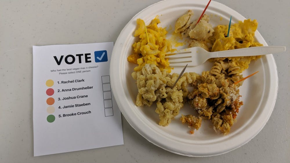 This is the second year that VoV has hosted the cook-off and seeks to raise awareness about plant-based diets.