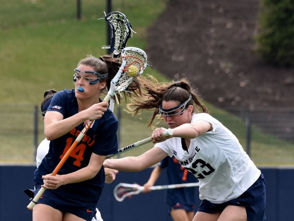 Senior attacker Maggie Jackson scored four goals in No. 8 Virginia's win over Penn State.