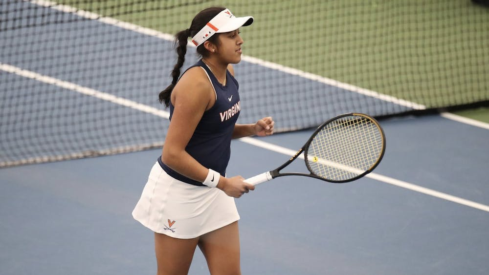 Sophomore Natasha Subhash has continued to impress in her second year on the team. Last season, Subhash was named National Rookie of the Year by the Intercollegiate Tennis Association after going 26-6 in singles matches and 15-5 against nationally ranked opponents.