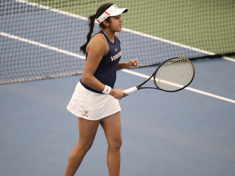 Sophomore Natasha Subhash has continued to impress in her second year on the team. Last season, Subhash was named National Rookie of the Year by the Intercollegiate Tennis Association after going 26-6 in singles matches and15-5 against nationally ranked opponents.