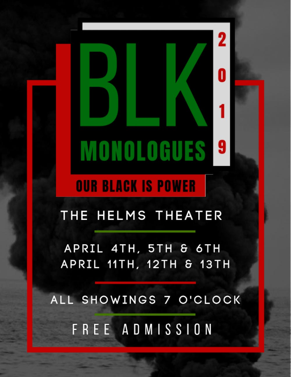 <p>This season's production of Black Monologues centralized around the theme of power and the exploration of black identity at the University and in the broader nation.</p>