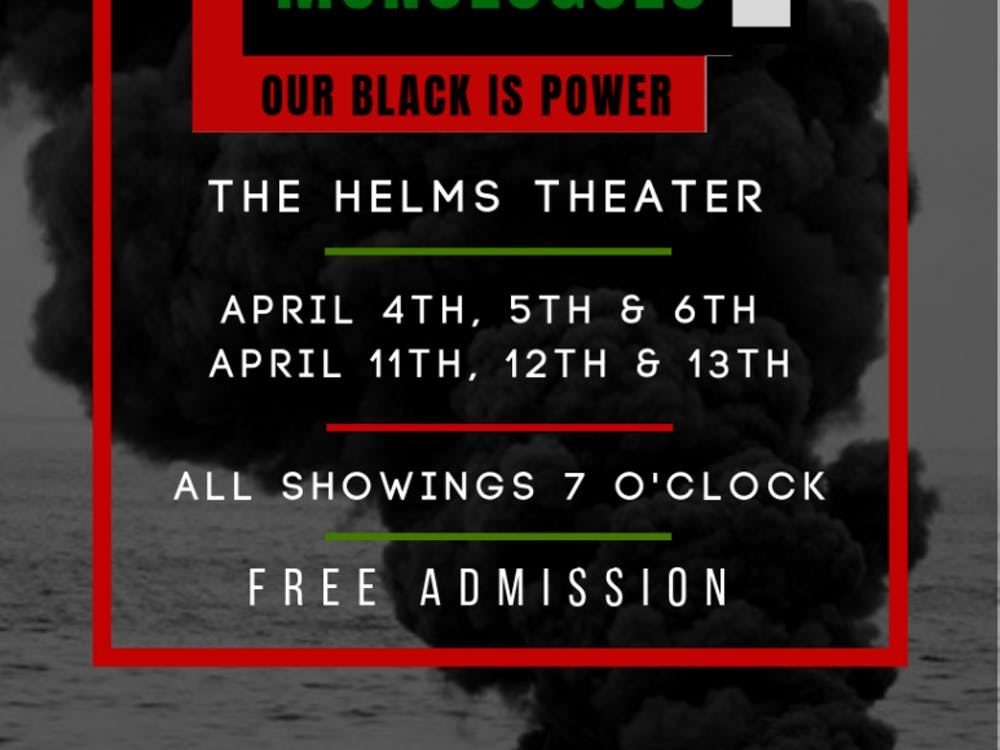 This season's production of Black Monologues centralized around the theme of power and the exploration of black identity at the University and in the broader nation.