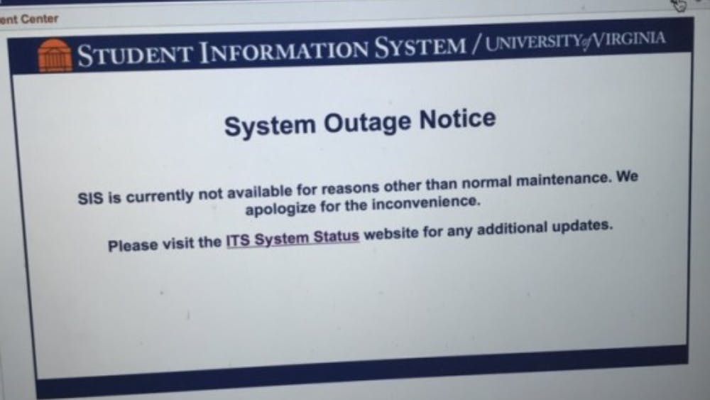 <p>The SIS outage, which happened during class enrollment time for some first years, lasted just over seven hours.</p>