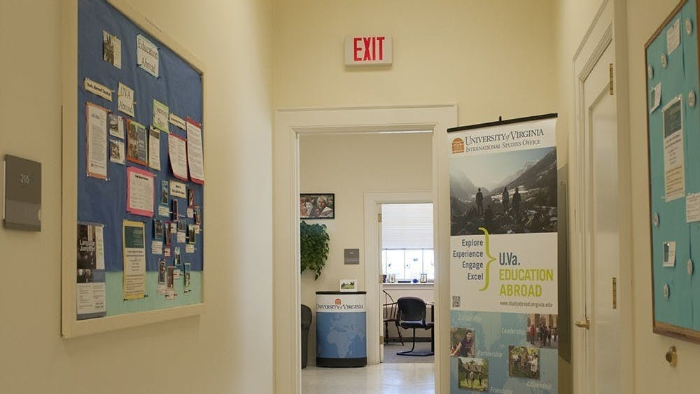 The study abroad office is supporting students in completing their academic courses online.