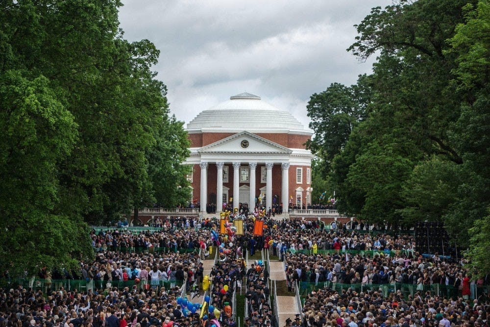 <p>Every graduating student will have the opportunity to walk down the Lawn. The ceremony — which is set to take place on May 16 —&nbsp;will be in Scott Stadium, where students are permitted to have two guests.</p>