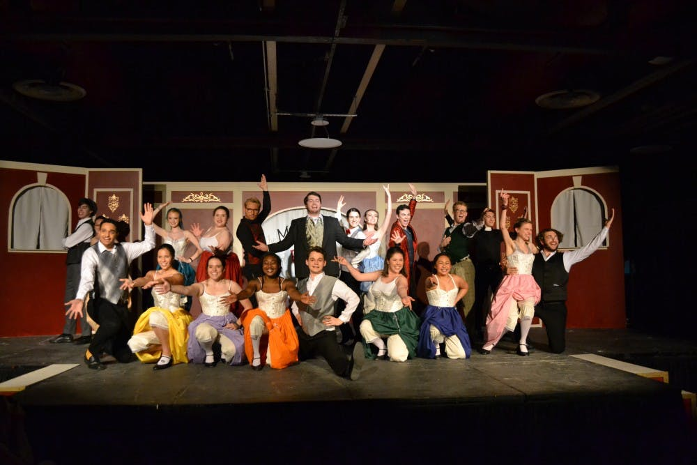 "<p>The cast of ""The Mystery of Edwin Drood"" balanced absurdity, confusion and melodrama through acting prowess.</p>"