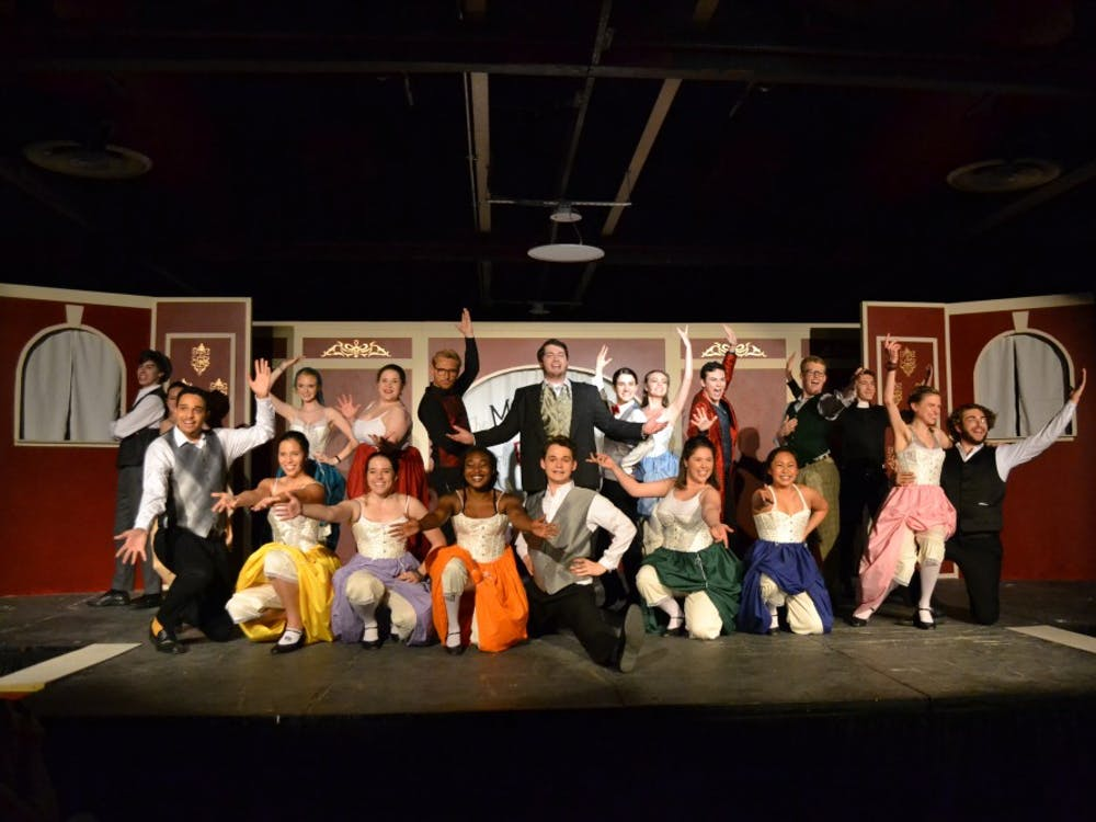 """The cast of """"The Mystery of Edwin Drood"""" balanced absurdity, confusion and melodrama through acting prowess."""