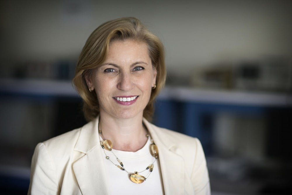 <p>Engineering professor Maite Brandt-Pearce's Li-Fi technology could offer an alternative to Wi-Fi networks.</p>