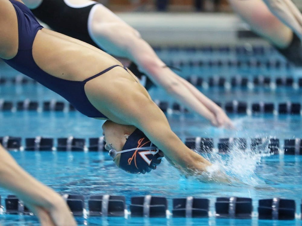 The Cavalier men's and women's swimming teams finished fourth and third, respectively, at the Tennessee Invitational, despite the absence of the diving team.