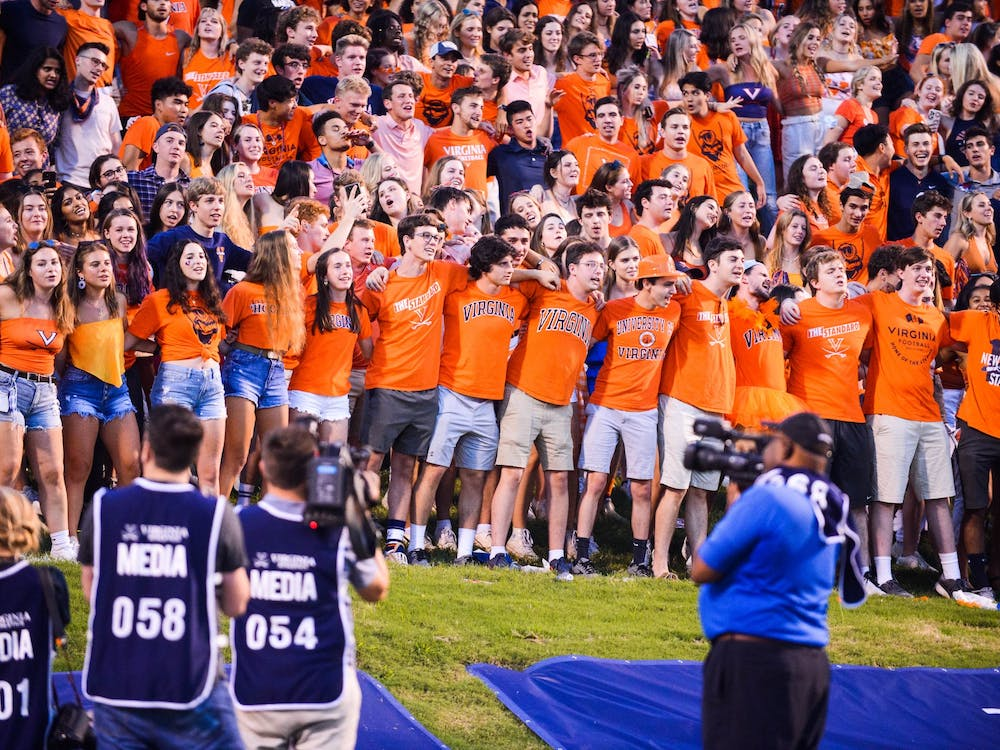 """Against William & Mary, Virginia fans got to sing """"The Good Old Song"""" eight times en route to the team's 43-0 victory."""