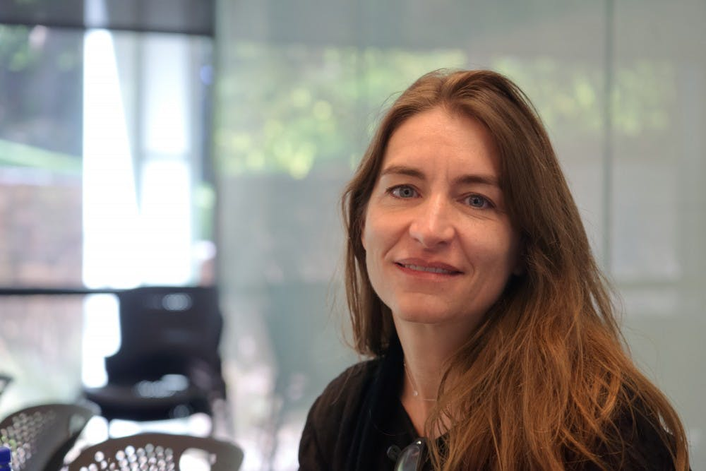 <p>Heather Roberge, a visiting professor who recently gave a lecture for the School of Architecture, spoke to The Cavalier Daily about the need for modern construction styles in a traditional setting.</p>