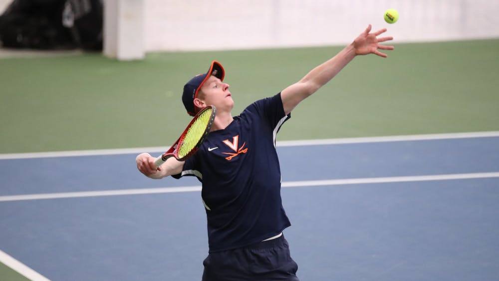 No. 106 freshman Jeffrey von der Schulenberg won his singles match with ease, defeating freshman Younes Lalami at the No. 3 position in straight sets, 6-2, 6-3