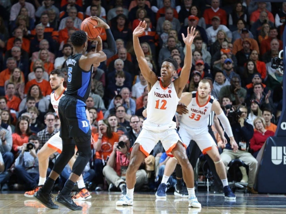 Sophomore guard De'Andre Hunter's defensive versatility will be crucial for the Cavaliers in the Final Four.