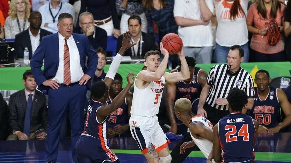 Junior guard Kyle Guy's ability to make threes could prove to be crucial given Texas Tech's stingy interior defense.
