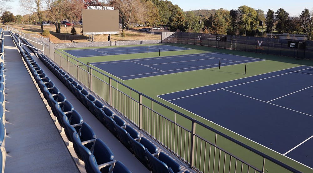 <p>Despite the looming presence of COVID-19, the men's tennis team pulled off an electric win against North Carolina and won the program's 13th ACC Championship this past weekend.</p>