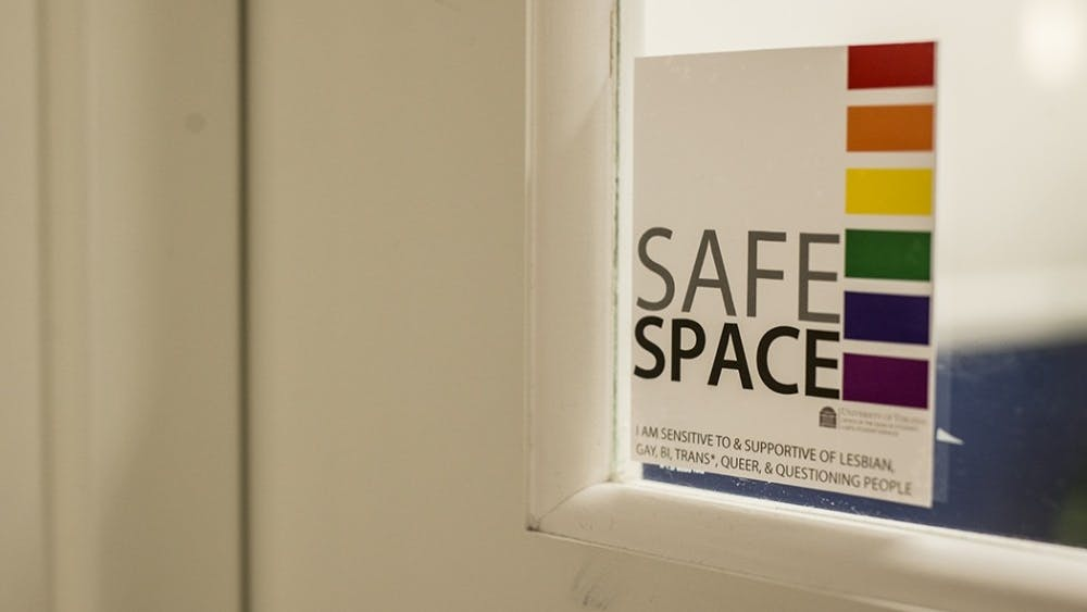 Some professors and administrators have elected to make their offices safe spaces.