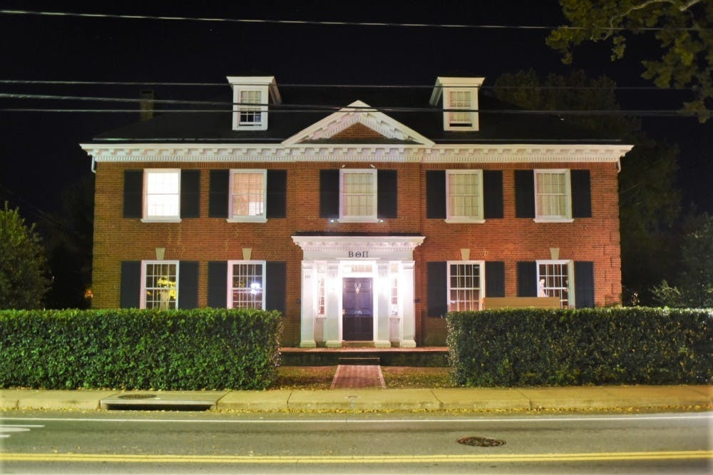 Beta Theta Pi fraternity is under investigation by U.Va. and its national chapter.