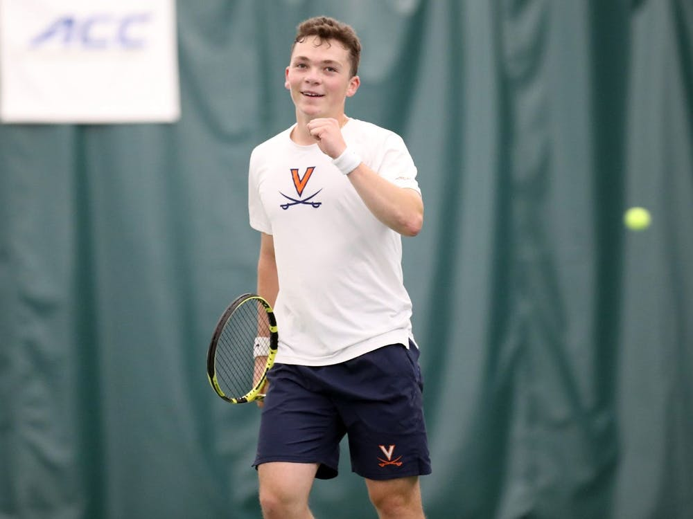 Virginia freshman Iñaki Montes has won nine consecutive singles matches for the Cavaliers.