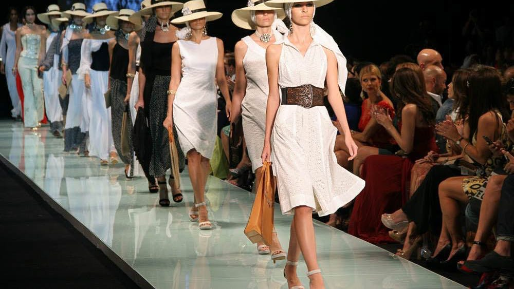 Bring the feeling of Miami Fashion Week to your very own home with your unique quarantine style.