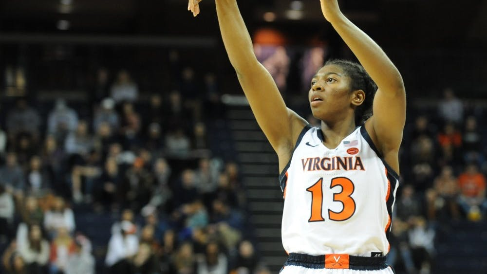 Virginia junior small forward Jocelyn Willoughby matched her career high with 25 points.