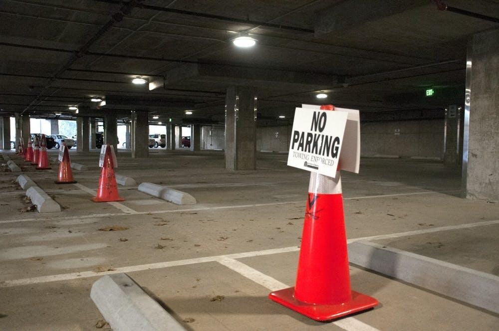 Las 36 plazas de aparcamiento afectadas probablemente permanecerán cerradas durante las próximas semanas.
