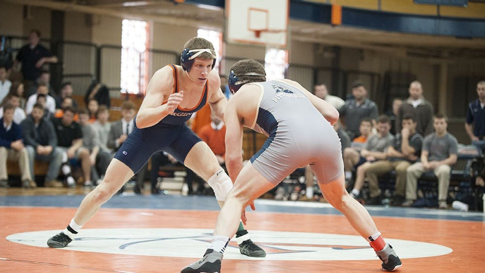 Senior Nick Sulzer earned his third All-American honor after placing fifth at 165 pounds at the NCAA Wrestling Championships in St. Louis, Missouri. Sulzer became the second three-time All-American in program history.