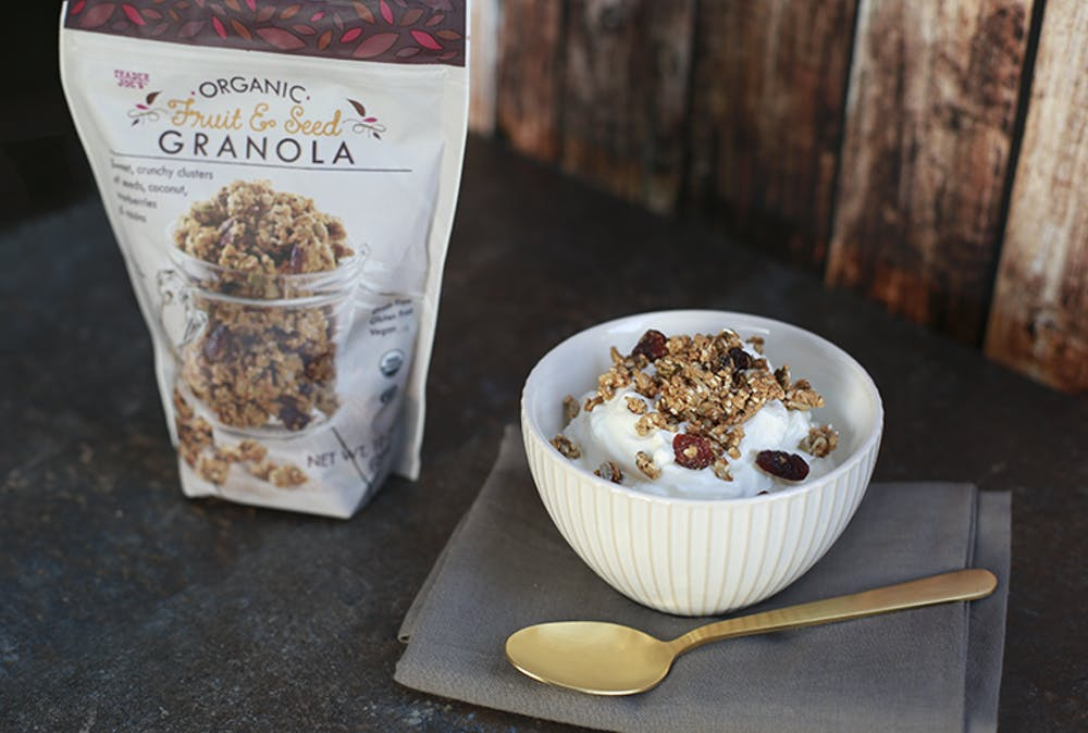 Grain-free, gluten-free and vegan, this granola is perfectly delicious on its own or can be used to top cereal or yogurt